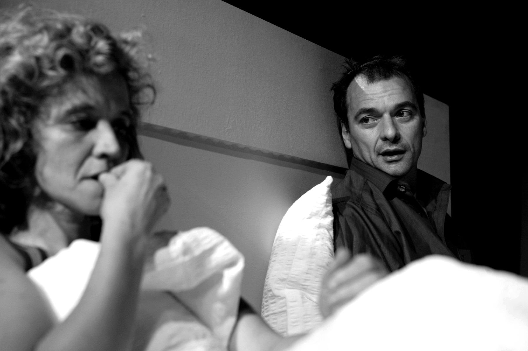v.l. Kaminski, Beck-Rebholz in SZENEN EINER EHE © Felix Holland