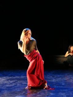 v.l. Katharina Wiedenhofer, Fan Li FreiesTanzTheater